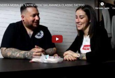 Andrea Morales entrevista