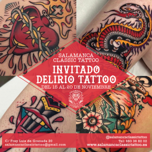 delirio tatuajes salamanca tadicional tradi salamanca classic tattoo