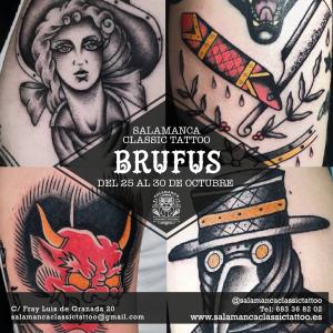brufus tattoo salamanca classic tatuajes tradicional