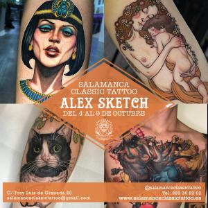 alex sketch salamanca classic tattoo tatuajes neotradicional